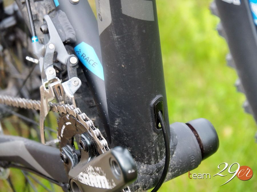 Kross Inner cable routing